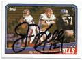 JIM KELLY BUFFALO BILLS AUTOGRAPHED VINTAGE FOOTBALL CARD #70620B