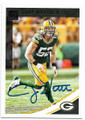 CLAY MATTHEWS GREEN BAY PACKERS AUTOGRAPHED FOOTBALL CARD #70620D