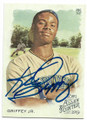 KEN GRIFFEY JR SEATTLE MARINERS AUTOGRAPHED BASEBALL CARD #71320A