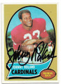 JOHNNY ROLAND ST LOUIS CARDINALS AUTOGRAPHED VINTAGE FOOTBALL CARD #71620B