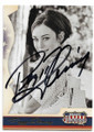 PEGGY FLEMING AUTOGRAPHED OLYMPIC SKATING CARD #72020B