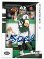 SAM DARNOLD NEW YORK JETS AUTOGRAPHED ROOKIE FOOTBALL CARD #72220A