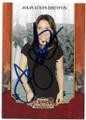 JULIA LOUISE-DREYFUS AUTOGRAPHED CARD #72420D