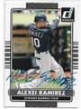 ALEXEI RAMIREZ CHICAGO WHITE SOX AUTOGRAPHED BASEBALL CARD #72620E