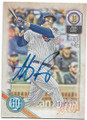 ANTHONY RIZZO CHICAGO CUBS AUTOGRAPHED BASEBALL CARD #73120A