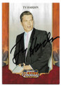 TY HARDIN ACTOR AUTOGRAPHED CARD #80120B
