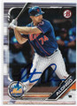 PETER ALONSO NEW YORK METS AUTOGRAPHED ROOKIE BASEBALL CARD #80320F