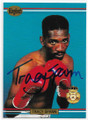 TRACY SPANN AUTOGRAPHED BOXING CARD #80420D