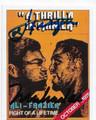 MUHAMMAD ALI & JOE FRAZIER DOUBLE AUTOGRAPHED BOXING CARD #80920D