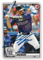 NOLAN ARENADO COLORADO ROCKIES AUTOGRAPHED BASEBALL CARD #81320A