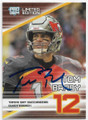 TOM BRADY TAMPA BAY BUCCANEERS AUTOGRAPHED FOOTBALL CARD #82420A