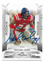 MICHAEL OHER OLE MISS REBELS AUTOGRAPHED ROOKIE FOOTBALL CARD #82620C