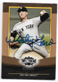 WHITEY FORD NEW YORK YANKEES AUTOGRAPHED & NUMBERED BASEBALL CARD #82820B