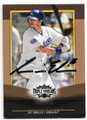 ANDRE ETHIER LOS ANGELES DODGERS AUTOGRAPHED & NUMBERED BASEBALL CARD #90220A