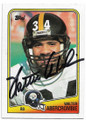 WALTER ABERCROMBIE PITTSBURGH STEELERS AUTOGRAPHED VINTAGE FOOTBALL CARD #90320A