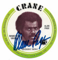 ALAN PAGE MINNESOTA VIKINGS AUTOGRAPHED POTATO CHIP DISC FOOTBALL CARD #90420A