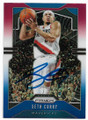 SETH CURRY DALLAS MAVERICKS AUTOGRAPHED BASKETBALL CARD #90720B