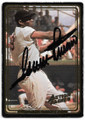 MINNIE MINOSO CHICAGO WHITE SOX AUTOGRAPHED BASEBALL CARD #91020D