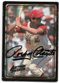 ROCKY COLAVITO CLEVELAND INDIANS AUTOGRAPHED BASEBALL CARD #91120F