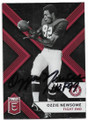 OZZIE NEWSOME UNIVERSITY OF ALABAMA CRIMSON TIDE AUTOGRAPHED FOOTBALL CARD #91420D
