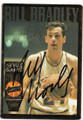 BILL BRADLEY NEW YORK KNICKS AUTOGRAPHED VINTAGE BASKETBALL CARD #91820D