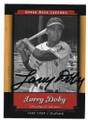 LARRY DOBY DETROIT TIGERS AUTOGRAPHED BASEBALL CARD #92020A