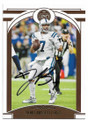 JACOBY BRISSETT INDIANAPOLIS COLTS AUTOGRAPHED FOOTBALL CARD #92220C