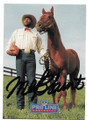 MEL BLOUNT PITTSBURGH STEELERS AUTOGRAPHED FOOTBALL CARD #92220E