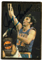 JERRY LUCAS NEW YORK KNICKS AUTOGRAPHED BASKETBALL CARD #92220F