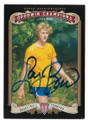 LARRY BIRD INDIANA STATE SYCAMORES AUTOGRAPHED BASKETBALL CARD #101520A