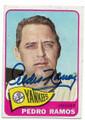PEDRO RAMOS NEW YORK YANKEES AUTOGRAPHED VINTAGE BASEBALL CARD #101520B