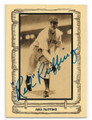 RED RUFFING NEW YORK YANKEES AUTOGRAPHED VINTAGE BASEBALL CARD #101520C