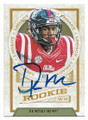 DK METCALF OLE MISS REBELS AUTOGRAPHED ROOKIE FOOTBALL CARD #101720D
