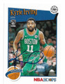 KYRIE IRVING BROOKLYN NETS AUTOGRAPHED BASKETBALL CARD #102020F