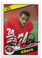 FRED DEAN SAN FRANCISCO 49ers AUTOGRAPHED VINTAGE FOOTBALL CARD  #102420C