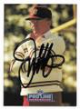 JOE GIBBS WASHINGTON REDSKINS AUTOGRAPHED VINTAGE FOOTBALL CARD #102620B