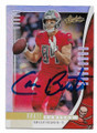 CAMERON BRATE TAMPA BAY BUCCANEERS AUTOGRAPHED FOOTBALL CARD #102820F