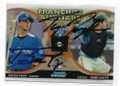 BUSTER POSEY & TOMMY JOSEPH SAN FRANCISCO GIANTS DOUBLE AUTOGRAPHED BASEBALL CARD #103020A