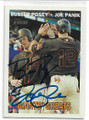 BUSTER POSEY & JOEPANIK SAN FRANCISCO GIANTS DOUBLE AUTOGRAPHED BASEBALL CARD #103020F