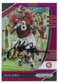 JULIO JONES UNIVERSITY OF ALABAMA CRIMSON TIDE AUTOGRAPHED FOOTBALL CARD #110320F