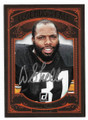 DONNIE SHELL PITTSBURGH STEELERS AUTOGRAPHED FOOTBALL CARD #111920E
