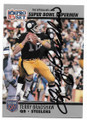 TERRY BRADSHAW PITTSBURGH STEELERS AUTOGRAPHED VINTAGE FOOTBALL CARD #112220B