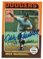 MIKE MARSHALL LOS ANGELES DODGERS AUTOGRAPHED BASEBALL CARD #112520A