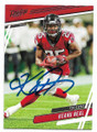 KEANU NEAL ATLANTA FALCONS AUTOGRAPHED FOOTBALL CARD #112720C