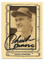 "CHUCK CONNORS CHICAGO CUBS AND ""THE RIFLEMAN"" ACTOR AUTOGRAPHED BASEBALL CARD #112820C"