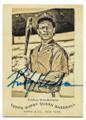 RICKEY HENDERSON OAKLAND ATHLETICS AUTOGRAPHED BASEBALL CARD #120320C