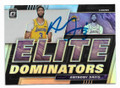 ANTHONY DAVIS LOS ANGELES LAKERS AUTOGRAPHED BASKETBALL CARD #121920D