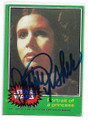 CARRIE FISHER PRINCESS LEIA AUTOGRAPHED VINTAGE STAR WARS CARD #122120E