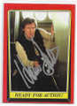 """HARRISON FORD """"HANS SOLO"""" AUTOGRAPHED STAR WARS CARD #122220A"""
