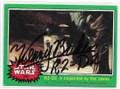 KENNY BAKER R2D2 AUTOGRAPHED VINTAGE STAR WARS CARD #122220C